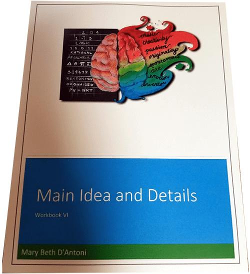 """Workbook 6 & 7 Ebook – Pathways to the Mind – """"Main Ideas & Details"""""""